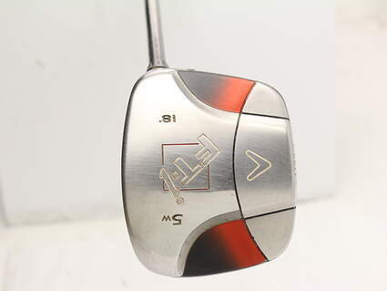 Callaway FT-i Squareway Fairway Wood 5 18* Fujikura Sakura Graphite Ladies Right Handed 41.5 in