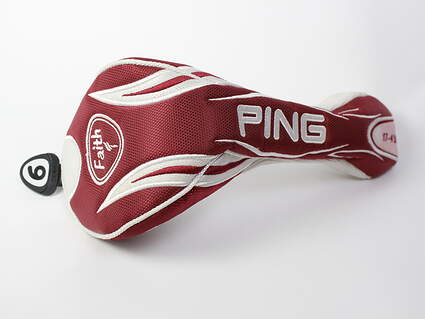 Ping Women's / Ladies Faith Fairway Wood 9 Tag Headcover Head Cover Golf