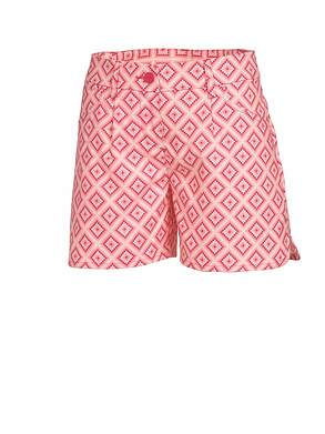 New Womens Puma Golf Novelty Shorts Size 4 Raspberry/ Strawberry Pink MSRP $65