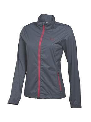 New Womens Puma Golf W Tech Jacket Small S Turbulence MSRP $90