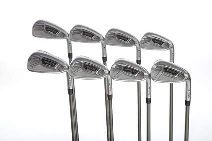 Ping Anser Forged 2013 Iron Set 3-PW Aerotech SteelFiber i110cw Graphite X-Stiff Right Handed Green Dot 38.5 in