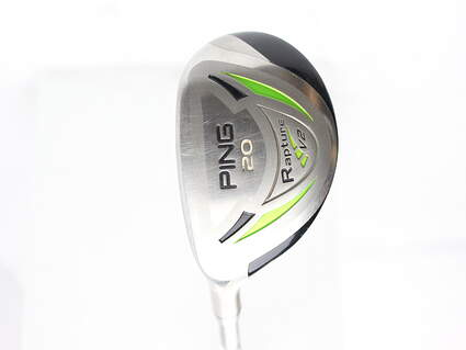 Ping Rapture V2 Hybrid 3 Hybrid 20* Ping TFC 939H Graphite Regular Left Handed 39.75 in