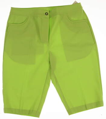 New Womens EP Pro Golf Shorts Size 4 Green MSRP $70