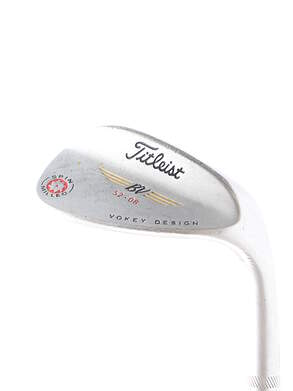 Titleist 2009 Vokey Spin Milled Chrome Wedge Gap GW 52* 8 Deg Bounce True Temper Dynamic Gold S200 Steel Stiff Right Handed 35 in