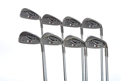 Ping i15 Iron Set 3-PW Ping AWT Steel X-Stiff Right Handed Black Dot 38.5 in