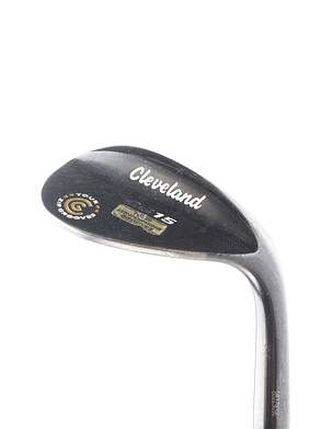 Cleveland CG15 Black Pearl Wedge Lob LW 58* 12 Deg Bounce Cleveland Traction Wedge Steel Wedge Flex Right Handed 35.5 in