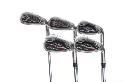 Adams Idea A12 OS Iron Set 7-PW GW True Temper Performance 85 Steel Regular Right Handed 37.25 in