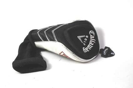 Callaway 2008 FT Fairway Wood Headcover White Golf Head Cover with Adjustable Tags