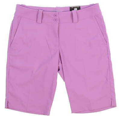 New Womens Nike Golf Shorts Size 6 Purple MSRP $70