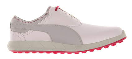 New Womens Golf Shoe Puma Ignite Spikeless 7 White/Grey MSRP $110