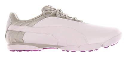 New Womens Golf Shoe Puma SunnyLite V2 Spikeless 7 White / Grey MSRP $80 188668 04