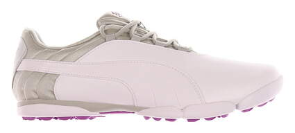 New Womens Golf Shoe Puma SunnyLite V2 Spikeless 9 White / Gray Violet / Purple Cactus Flower MSRP $80 188668 04