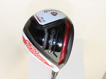 TaylorMade AeroBurner TP Fairway Wood 3 Wood HL 16.5* Mitsubishi Diamana S+ Blue 72 Graphite Stiff Right Handed 43 in
