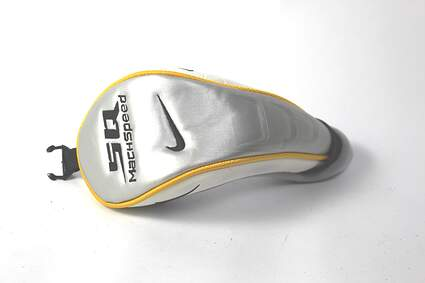 Nike Sasquatch SQ Ladies Machspeed Hybrid Headcover Head Cover Golf White and Silver