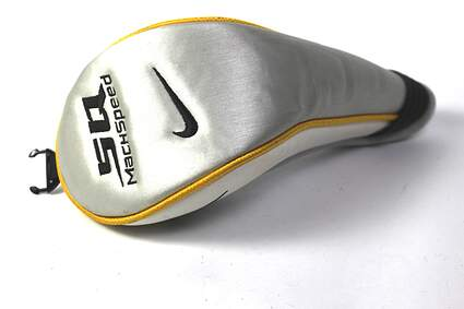 Nike Sasquatch Machspeed Ladies Fairway Wood Headcover Silver and White Golf HC