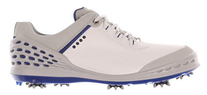 New Mens Golf Shoe Ecco Cage 43 (9-9.5) White MSRP $200