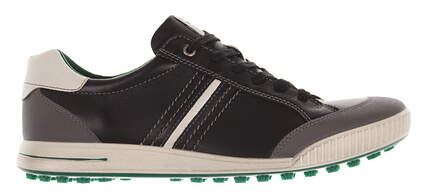 New Mens Golf Shoe Ecco Golf Street 9.5 Black MSRP $180