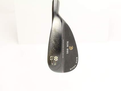 Cleveland 588 RTX Black Pearl Wedge Lob LW 58* 12 Deg Bounce True Temper Dynamic Gold Steel Wedge Flex Right Handed 35 in