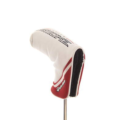 TaylorMade 2011 White Smoke Series Blade Putter Headcover White/Red