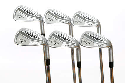 Callaway Apex Pro Iron Set 5-PW FST KBS TOUR-V 110 Steel Stiff 37.75 in