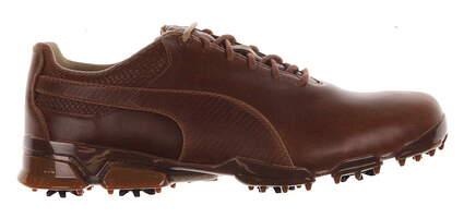 New Mens Golf Shoe Puma TitanTour Ingite Premium 10.5 Monk's Robe/Team Gold MSRP $190 188654