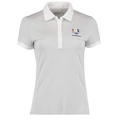 New Womens Nike 2016 Ryder Cup Victory Stripe Polo XX-Large XXL White MSRP $65