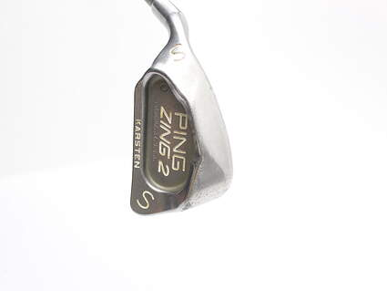 Ping Zing 2 Wedge Sand SW Ping GL282 Shaft Graphite Regular Left Handed Green Dot 36.25 in