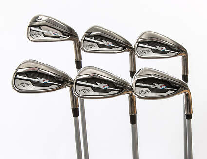 Callaway XR Iron Set 5-PW Project X PXv Graphite Regular Right Handed 38.75 in