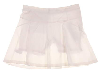 New Womens Lija Golf Skort Size 8 White MSRP $80