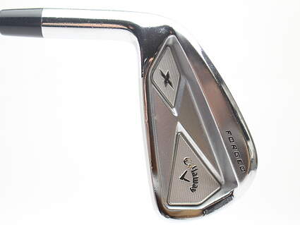 Callaway X Forged Single Iron 4 Iron Project X 6.0 Steel Stiff Left Handed 38.5 in