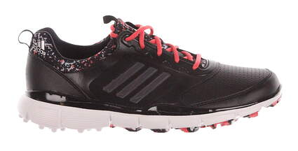 New Womens Golf Shoes Adidas Adistar Sport Medium 7.5 Black/White MSRP $100 F33298