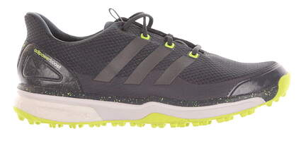 New Mens Golf Shoes Adidas Adipower Sport Boost 2 Medium 10.5 Gray/Lime MSRP $130 F33218