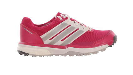 New Womens Golf Shoes Adidas Adipower Sport Boost 2 Medium 7 Pink/White MSRP $130 F33291