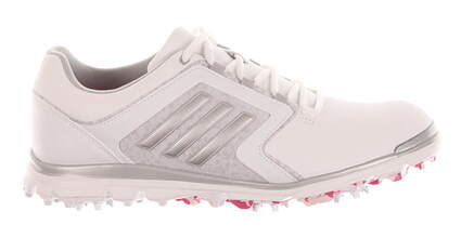 New Womens Golf Shoes Adidas Adistar Tour Medium 8.5 White MSRP $120 F33300