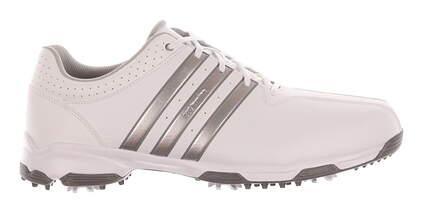 New Mens Golf Shoes Adidas 360 Traxion Medium 10.5 White MSRP $80 F33400