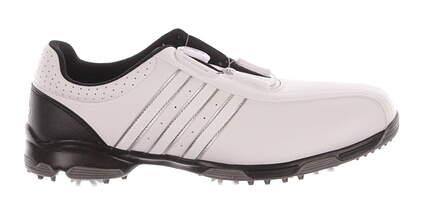 New Mens Golf Shoes Adidas 360 Traxion BOA Medium 10.5 White MSRP $100 F33446