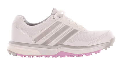 New Womens Golf Shoes Adidas Adipower Sport Boost 2 Medium 6 White/Pink MSRP $130 F33287