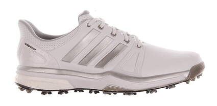 New Mens Golf Shoes Adidas Adipower Boost 2 Medium 11.5 White MSRP $150 Q44659
