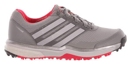 New Womens Golf Shoes Adidas Adipower Sport Boost 2 Medium 8 Gray MSRP $130 F33289