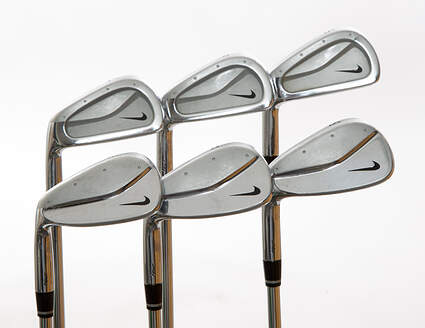 Nike Forged Pro Combo Iron Set 5-PW Stock Steel Shaft Steel Regular Left Handed 38 in