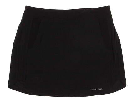 New Womens Ralph Lauren Golf Skort Size 10 Black MSRP $140