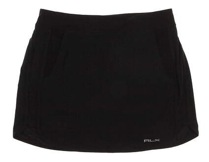 New Womens Ralph Lauren Golf Skort Size 8 Black MSRP $140