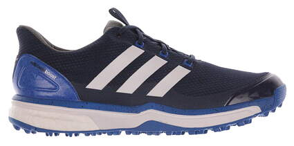 New Mens Golf Shoe Adidas Adipower Sport Boost 2 Medium 9 Blue/White MSRP $130