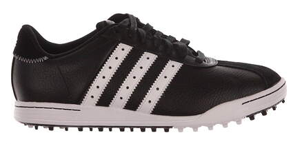 New Mens Golf Shoe Adidas Adicross Classic Medium 12 Black/White MSRP $100