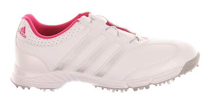 New Womens Golf Shoes Adidas Response Boa Medium 7 White MSRP $60 F33310