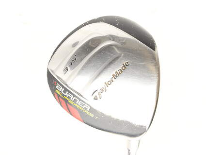 TaylorMade Burner Superfast Fairway Wood 3 Wood 3W 15* TM Matrix Ozik Xcon 4.8 Graphite Senior Right Handed 43.5 in