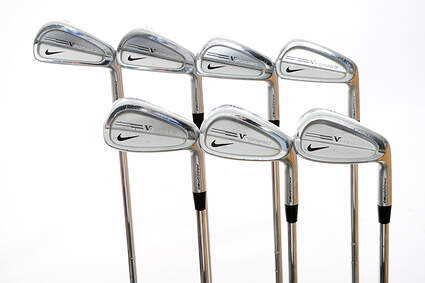 Nike Victory Red Pro Combo Iron Set 4-PW FST KBS Tour Steel Stiff Right Handed 38 in