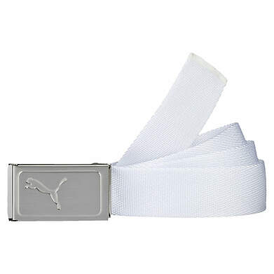 New Mens Puma Golf Works Web Belts One Size Fits Most MSRP $18