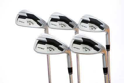 Callaway Apex Iron Set 6-PW FST KBS Tour Steel Stiff Right Handed 37.5 in