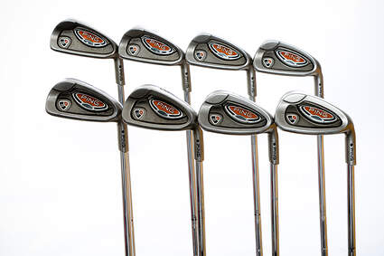 Ping i10 Iron Set 3-PW True Temper Dynamic Gold Steel X-Stiff Right Handed Black Dot 38 in